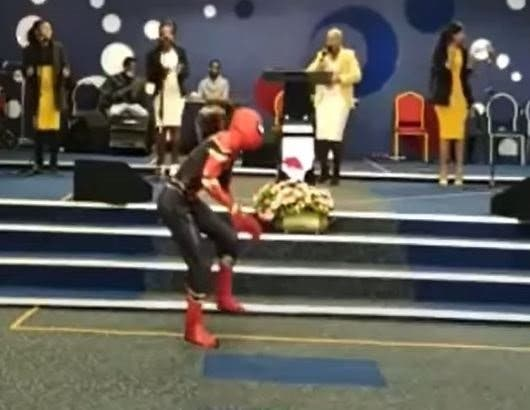 Spider-Man-dancing-in-the-church